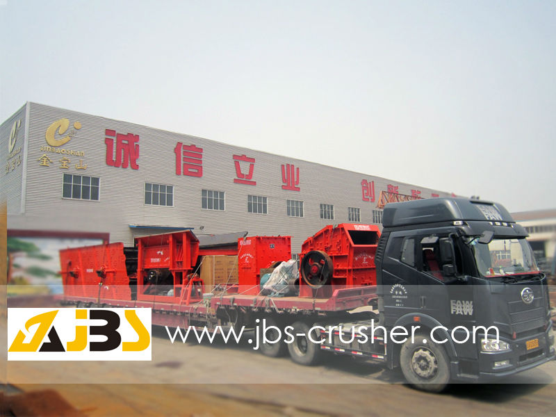 diesel engine power recycling mobile crusher
