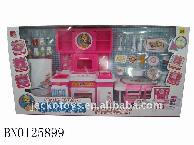 ของเล่นทำอาหาร, เด็กครัวชุดของเล่น( แบตเตอรี่ที่ดำเนินการ)
