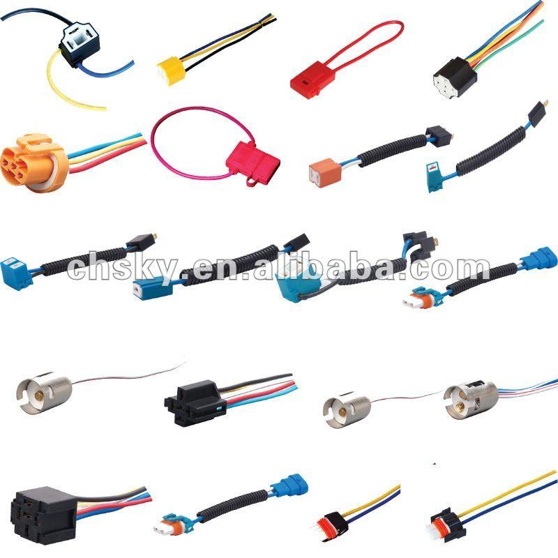 auto 9004/9005/9006/HB4/HB3ceramic headlight bulb socket