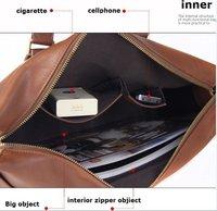 Светодиодная лампа Mens Genuine leather Messenger Bag Briefcase Handbag dark coffe /light coffe