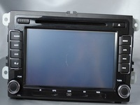 "Автомобильный DVD плеер Gift 4G FT card +GPS map +free EMS shipping 1pcs/lot 7"" HD DVD Player + GPS Navigation VolksWagen Rabbit 2006-2011"