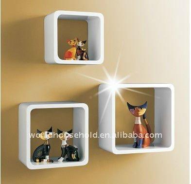 tag re murale cube de rangement carr salon d coratif. Black Bedroom Furniture Sets. Home Design Ideas