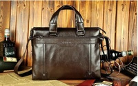NEW ARRIVAL!!! [ Genuine Leather ] Leisure leather men's male bag ,free shipping