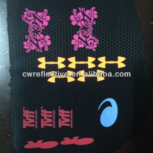 Reflective ink screen printing powder