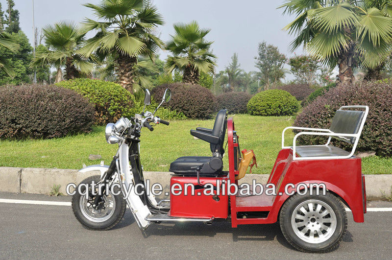 handicapped 3 wheel motorcycle passenger tricycle for disable