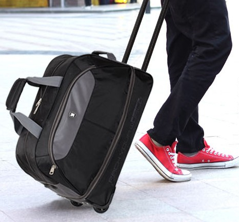shopping luggage hand trolley bag with wheels