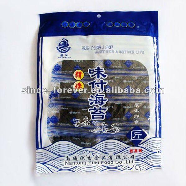 Crisp and tender Seasoned seaweed snack