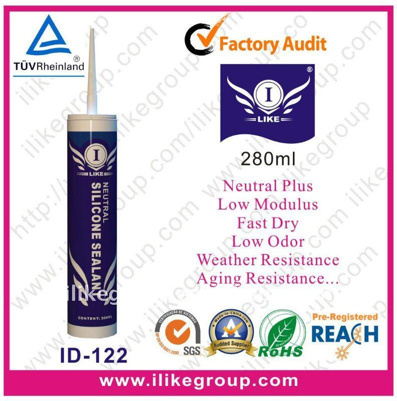 Acetic Silicone Sealant ( TUV certificate )