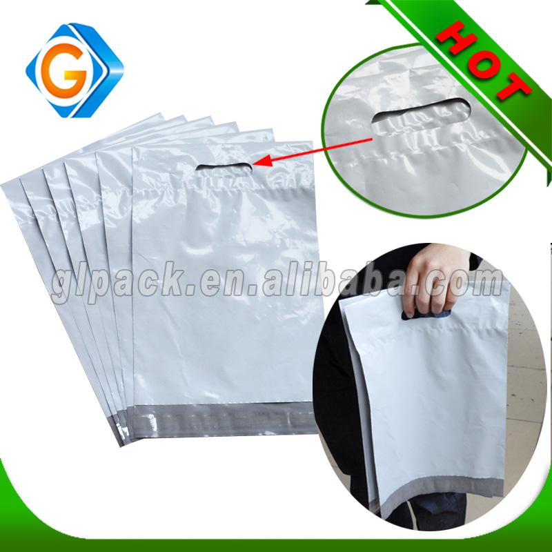 Custom plastic satchel
