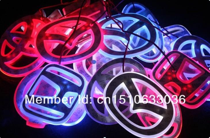 Светящиеся эмблемы для авто своими руками
