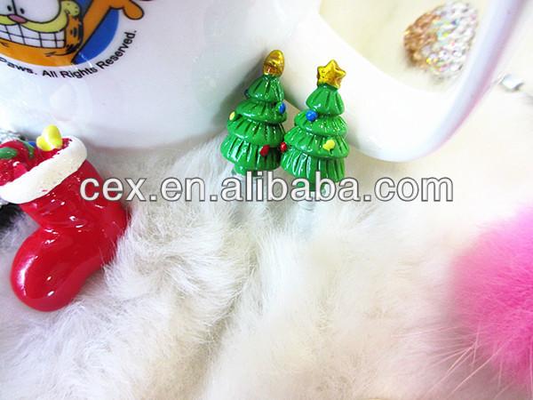 New Arrival Wholesales 3D Santa Design Dust Plug As Christmas Present For Apple iPhone 5 5S 5C