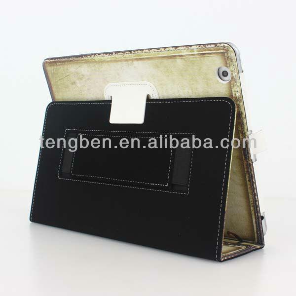 Auto Wake Sleep Function,High Quality PU leather case for Ipad