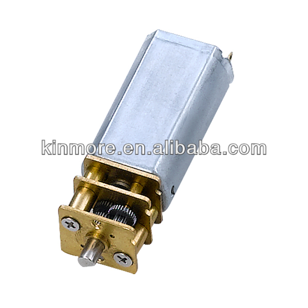 Small Electric Motor With Spur Gears Km 13f050 Low Rpm Dc