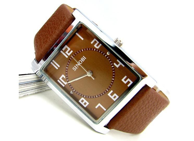 Стильные часы для мужчин квадратные