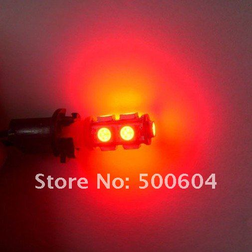T10 LED lamp 9SMD 5050 BA9S 3-chip light reversing light reading lamps, license plate lamp