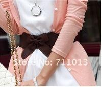 Мода краткий ярмарка v воротник Черри ложка юбки, платья, женщины...