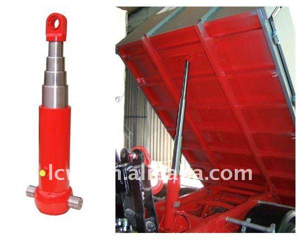 Hydraulic Dump Cylinders : Hydraulic dump trailer telescopic cylinder buy