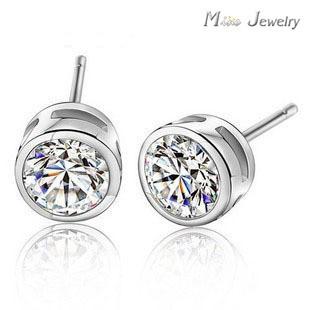 Серьги-гвоздики Mine Jewelry 925 Pendientes Brincos SM-224