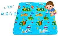 Free    shipping    Man Bao baby crawling mat - our planet