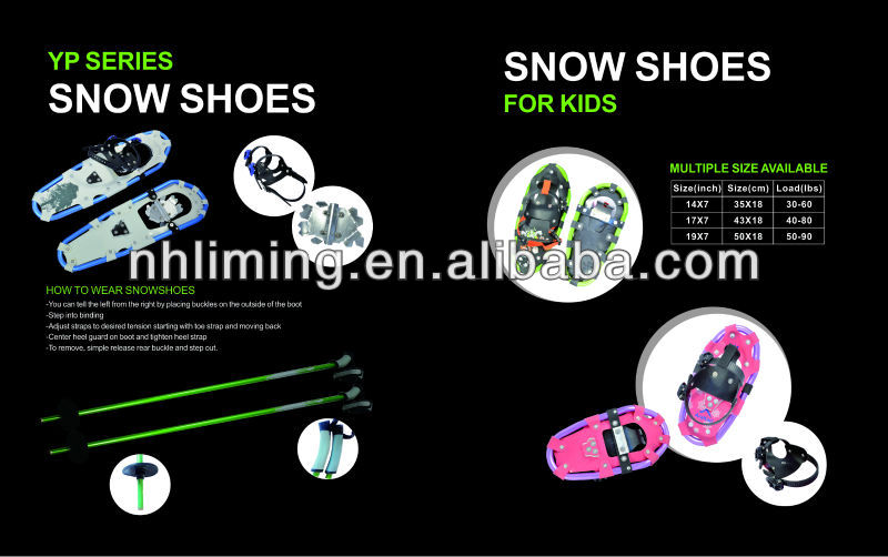 popular winter sports equipment snowshoes