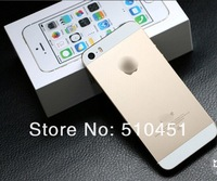 5S Gold Black White MTK6572 Dual Core Android 4.2 3G WIFI 4.0 inch Single SIM Card Smart phone