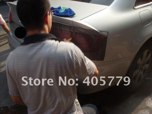 Wholesale LIGHT SMOKE TINT brake matte tail light film/stickers auto 0.4m*30m/roll free shipping    A7857