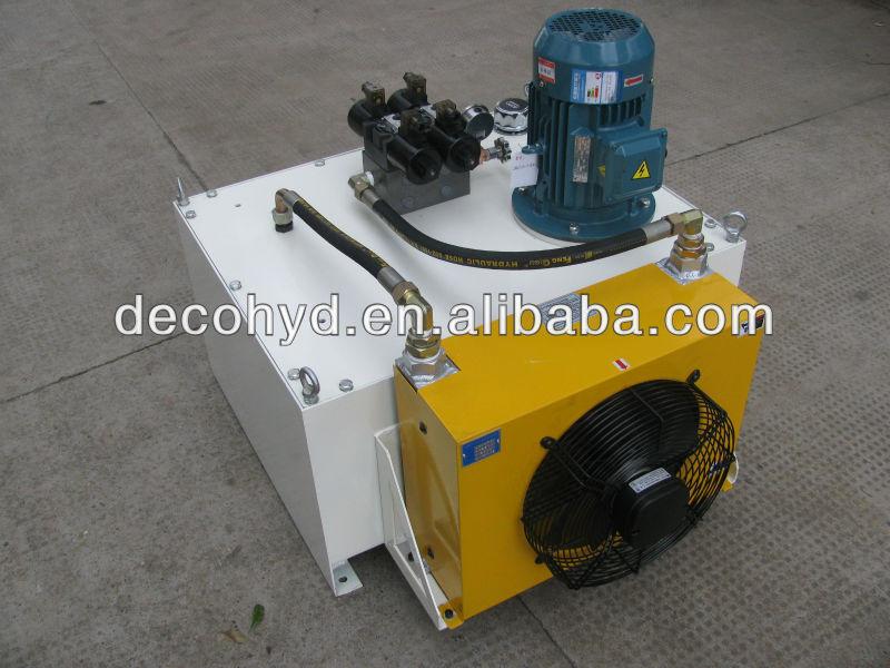 Dc / двигатель переменного тока с пневматическим приводом гидравлический питания комплект гидравлический насос используется 220 В электрический гидравлической системой