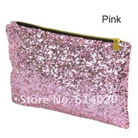 Вечерняя сумка Hot Fashion Women's Sparkle Spangle Clutch Evening Bag Wallet Purse Handbag 4colors