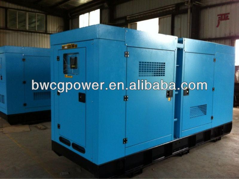 100kw-300kw Electrica power Generator with Cummins engine