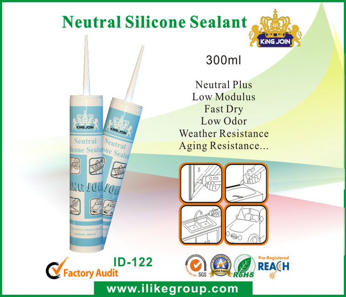 Wide use Waterproof Neutral Silicone Sealant (TUV,SGS)