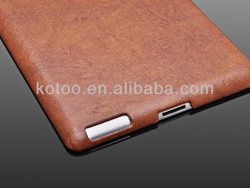 Promotional luxury holder for ipad leather case