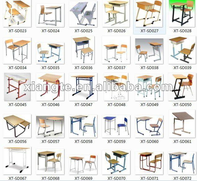 Beautiful concebido dupla mesa da escola e cadeira mesa for Mobiliario escolar medidas