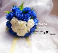 синий демон новый ручной свадьбы/свадебный букет ручной цветы