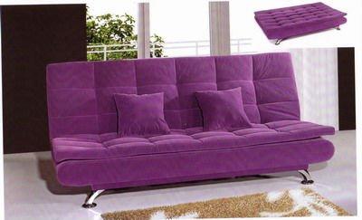 Rosa elegante sof da tela cama sof s para sala de estar - Funda sofa conforama ...