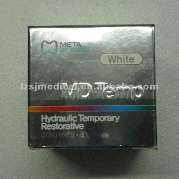 META BIOMED MD Temp Hydraulic Temporary Restorative Dental Temporary Filling Material