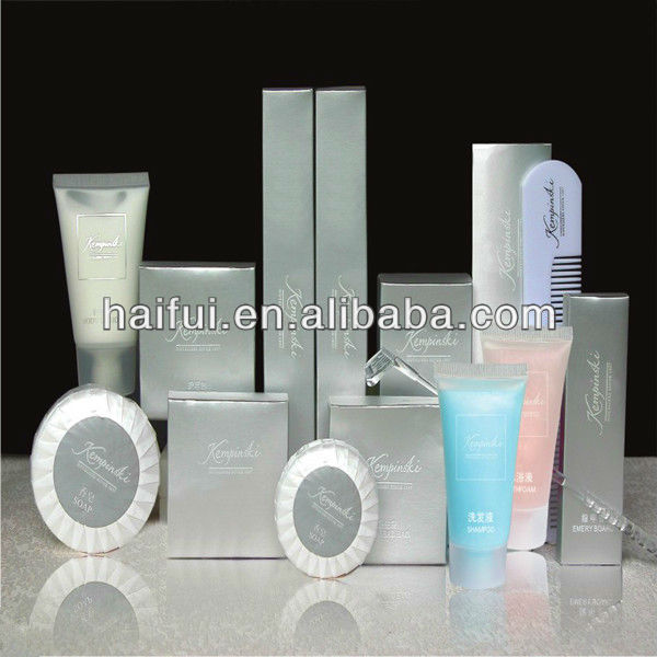 Environmental Hotel toiletries and hotel amenity set suitable for different kinds of hotel