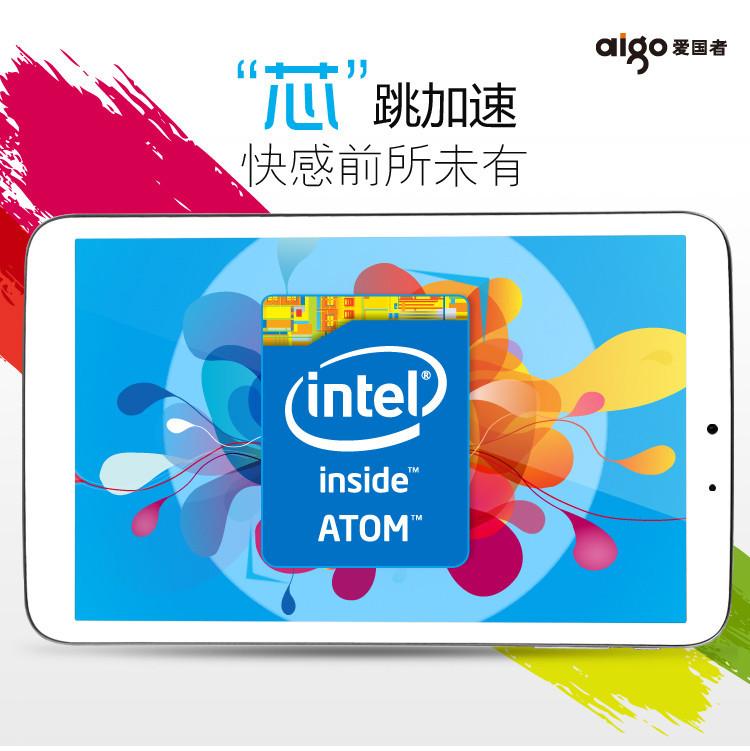 Aigo X82   8 дюймовый планшет на базе Intel Z2580 с частотой 2ГГц + фотосет