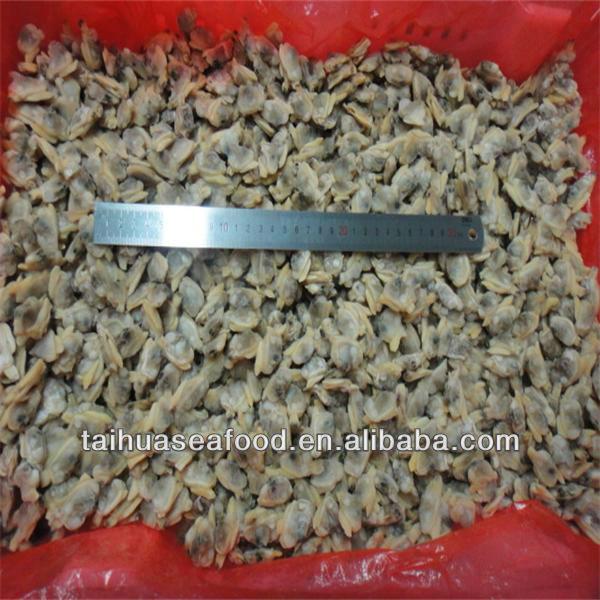 Сырье и приготовленный полуформой моллюск мясо ( 300 - 500 )