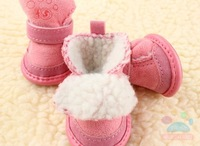 Одежда для собак 1 Set /4pcs 2012 NEW products Classic autumn and winter series of pet shoes classic snow boots Pet dog shoes