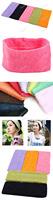 buygento 7 см широкий конфеты цвет спорта йога волосы лента эластичная полотенце широкое оголовье сохранить до 50