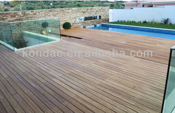 Composite Engineered Timber Flooring Bamboo Deck Flooring