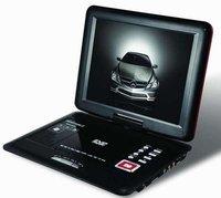 Потребительская электроника 12 inch Portable DVD Player with TV USB and Card Reader
