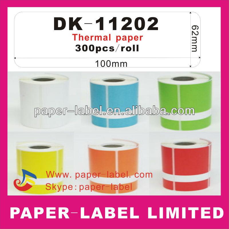Brother compatible Labels DK-11202,DK-1202,DK-202 DK11202 DK1202 DK202 Direct Thermal Labels QL Series Printers