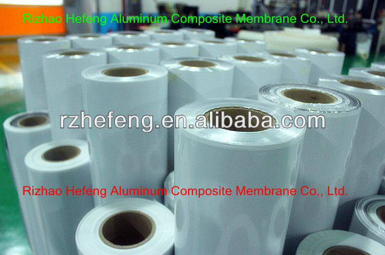 Industrial Plastic Film Machine Package Film for Industrial Package PET/AL/CPE Film