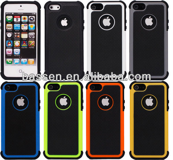 rugged shockproof for iphone 5 case