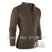 Потребительские товары New Arrived Men's Leisure Long-Sleeve T-Shirt, Fashion T-shirt Man Shirts 382