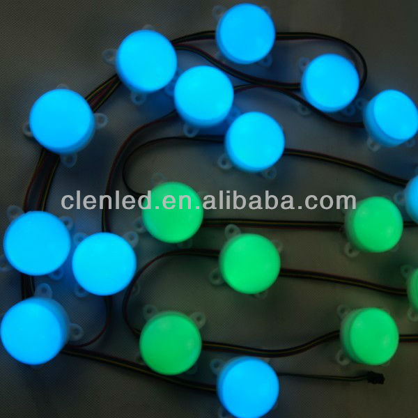 3 leds pixel rgb led module ws2801 with cover