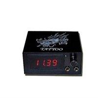 Клип-корды, Блоки питания для татуировочных машин Great Quality Black Color Digital LCD Power Supply