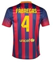 Free shipping 13/14 New Spain FC Basa Messi Top Soccer Jerseys Kits Messi Dri Fit Football Shirt Player Version Sports T shirt