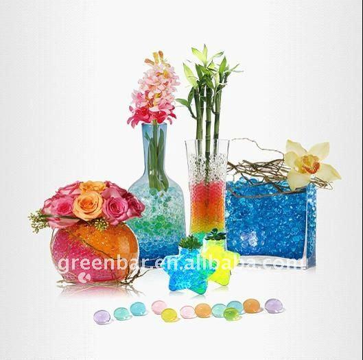 Contas de água/água pérolas para arranjo de flores, decoração do partido, castiçal